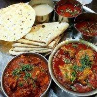Chicken Thali